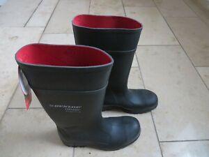 Dunlop Purofort Professional Full Safety Herren Gummistiefel, dunkelgrün, Gr. 42