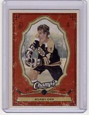 BOBBY ORR 09/10 CHAMPS CHAMP'S RED PARALLEL *SP* #10 Insert Hockey Card Bruins