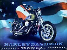 Harley Davidson-1992 FXDB Daytona Metal Sign