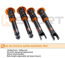 Ksport Kontrol Pro Coilovers Shocks Springs for Toyota Supra 93-98 MkIV