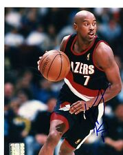 KENNY ANDERSON PORTLAND TRAIL BLAZERS SIGNED AUTOGRAPHED 8X10  PHOTO