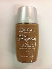 L'Oreal Ideal Balance Balancing Foundation MOCHA #322 NEW.