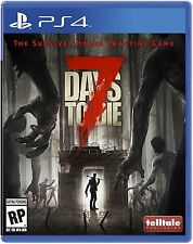 7 DAYS TO DIE PS4 Brand new FREE Shipping