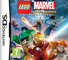 LEGO Marvel Super Heroes: Universe in Peril (Nintendo DS, 2014) CHEAP PRICE