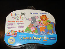 VTech V.Smile Baby Learning Game Baby Einstein World Of Discoveries