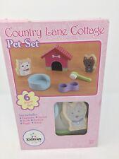 Kidkraft dollhouse - Country lane Cottage - PET SET 6 piece set NEW
