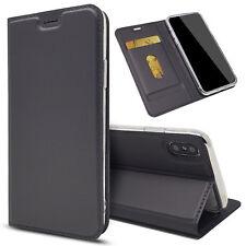 Slim Handyhülle Handytasche Schutz Hülle Brieftasche Silikon Case Taschen Etui