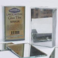 Mandala Art LARGE MOSAIC CRAFT GLASS TILES 8Pcs Easy Use & Cut MIRROR*Aust Brand