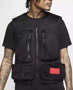Nike Jordan 23 Engineered Spacer Mesh Vest (CN4584-010) Large