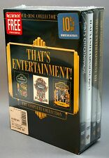 That's Entertainment Trilogy Giftset Complete Collection DVD 2004 4-Disc Set NEW