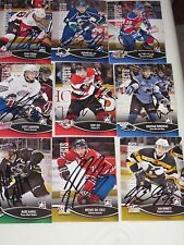 LOT OF 35 AUTOGRAPHED 2013 IN THE GAME HEROES AND PROSPECTS CARDS-GREAT NAMES