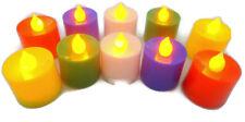 10 PCS DIWALI LED FLOATING TEA LIGHT FLAMELESS CANDLES WEDDING PARTY DECO GIFT