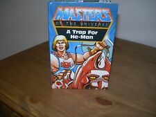 MASTERS OF THE UNIVERSE - A TRAP FOR HE-MAN LADYBIRD Book First Edition VG