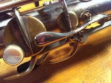 Wonderful SML REV A tenor sax saxophone 1941 silver plated Front F Key no Selmer