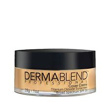 NIB Dermablend Cover Creme in NATURAL BEIGE Chroma 2 1/8