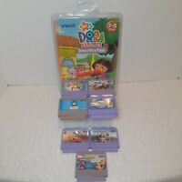 Lot 8 Vtech V.Smile Learning Game Dora Spiderman Shrek cars Thomas up