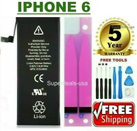 Replacement Battery for iPhone 6 1810mAh Internal Li-ion free Adhesive & TOOLS