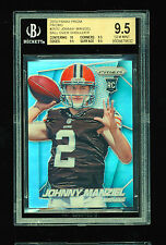 BGS 9.5 JOHNNY MANZIEL 2014 PANINI PRIZM REFRACTOR VARIATION BALL OVER SHOULDER