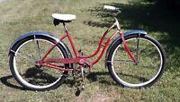 """1950's Schwinn Ladies Bicycle, S2 26"""" Rims"""