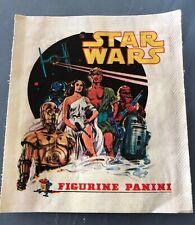 Star Wars 1977 Panini empty sticker packet very rare