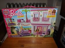 MEGA BLOKS, BARBIE BUILD 'N STYLE, BEACH HOUSE, KIT # 80226, NEW IN BOX, 2012