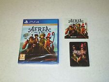 AereA Collector's Edition Sony PS4 Sealed Import With Soundtrack, Playing Cards