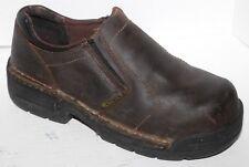 Hytest Metguard K10241 Leather Steel Toe Opanka Work Loafer sz  6M PERFECT