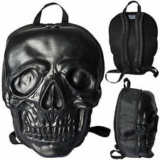 Kreepsville 666 Skull Black Punk Rock Death Skull Skeleton Coffin Backpack