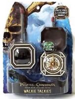 Pirates of the Caribbean Walkie Talkies Toy New
