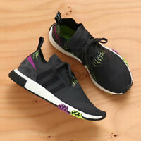 Adidas Originals NMD Racer PK Primeknit Boost Black Purple New Men Gym ds B37640