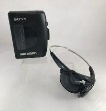 SONY Walkman (WM-EX10) & Headphones (MDR-015): Tested & Works  *Fast Ship! B2