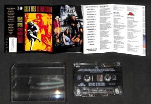 Guns N' Roses Use Your Illusion (1) 1991 Mega Rare Malaysia Cassette CS1931