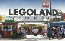 2 X Legoland Windsor E Tickets Friday 15th October 2021 Fri 15.10.21 rrp £106