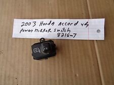 2003 honda accord 4dr sed left power mirror switch button control 8216-5 box3 1