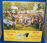 Mapletown Picnic by Andy Thomas 500pc SunsOut 19355