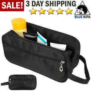 Travel Toiletry Bag Men Small Dopp Kit Organizer Zipper Bag Shaving Shower Case