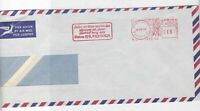 pretoria south africa 1969 machine cancel airmail stamp cover  Ref 10050