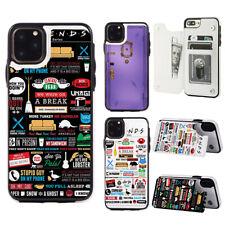 Friends-Purple-Monica's-Door Wallet Phone Case fit For iPhone & Samsung