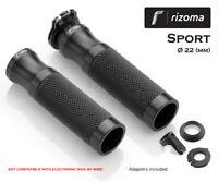 Poignées de guidon Sport Rizoma Noir Buell Lightning Long XB12Ss 2006 > 2011