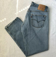 Vintage LEVI'S 501 XX 0115 Button Fly Jeans straight leg 34x30 Made in USA