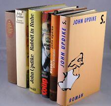 6x John Updike - Rabbit gebundene Romane - Amerika Literatur Bücherpaket