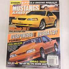 Mustangs & Fast Fords Magazine 1999 Steeda 360 GT September 1999 052317nonrh