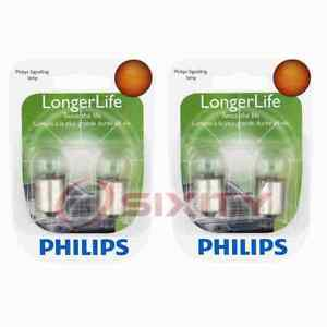 2 pc Philips Map Light Bulbs for Ford Country Sedan Country Squire Custom zo