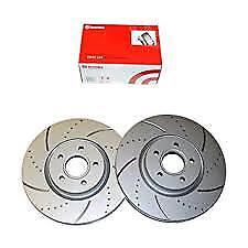 09394990 BREMBO DRILLED & GROOVED FRT  DISCS 280 M FITS BMW 5  E12 5 SER 74-81