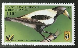 Neukaledonien New Caledonia 1986 **  Postfrisch    Vögel / Birds   MNH