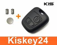 2T Ersatz Schlüssel Fernbedienung Gehäuse für Toyota Aygo + 2x TASTER + Batterie