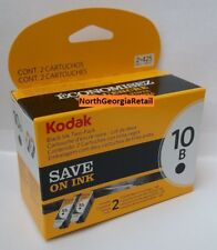 Kodak Black Ink Inkjet Cartridge 10 TWIN PACK 10B PRICE REDUCED 8240236