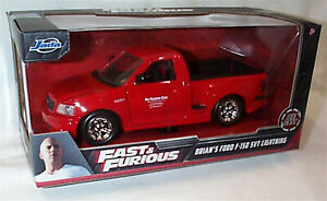 FAST & FURIOUS Brians Ford F-150 SVT Lightning 1/24 Scale OPENING Parts 99574 RB
