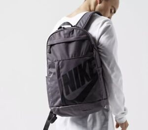 Nike Elemental 72 sportswear backpack unisex thunder grey/black  BA5876-083