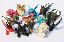 "How To Train Your Dragon Cake Topper Play Set 13pc  Figures 2""-3"""